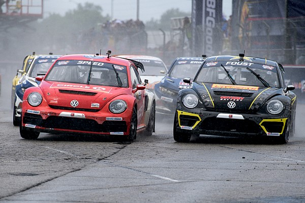 Global Rallycross Race report GRC Round 3: Saturday's report from Race 1 in New England