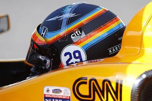Fãs devem eleger capacete de Alonso para Indy 500 de 2019