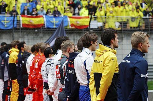 Ricciardo, Perez reprimanded for anthem ceremony incident