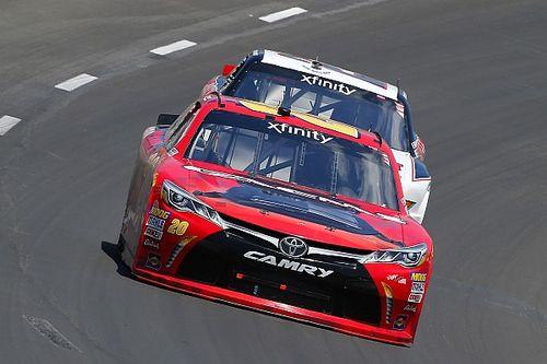 Logging laps on new surface could pay off for Jones, Blaney