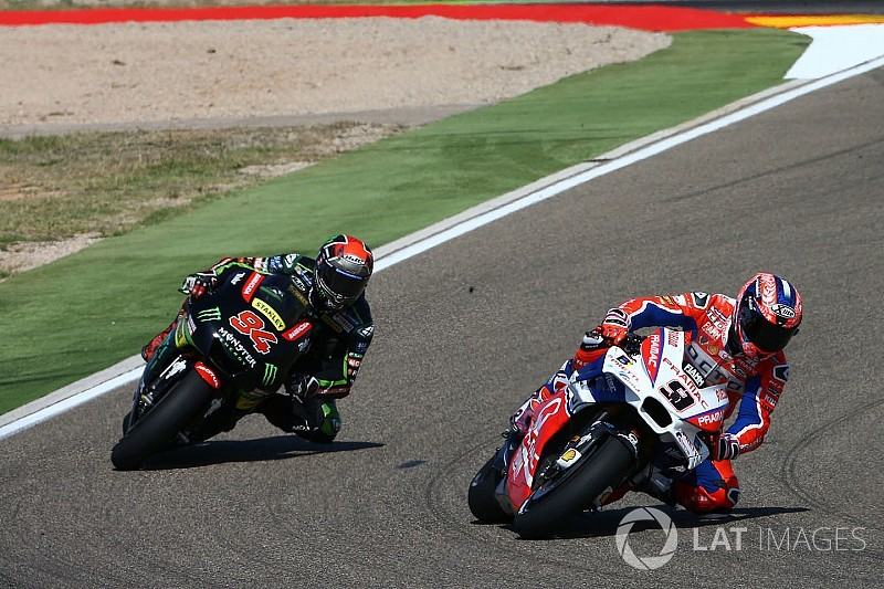 Petrucci suspects defective tyre to blame for Aragon nightmare