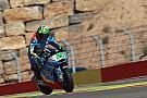 Moto2 Morbidelli celebró en el final en Moto2