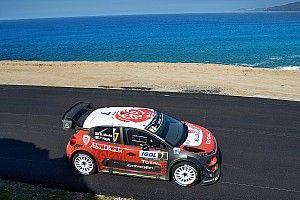 Corsica WRC: Meeke maintains narrow gap over Ogier