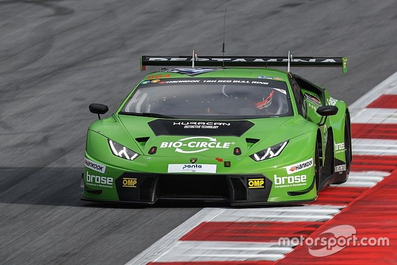 GRT Grasser Racing Team leads after the first part of the 12H Red Bull Ring