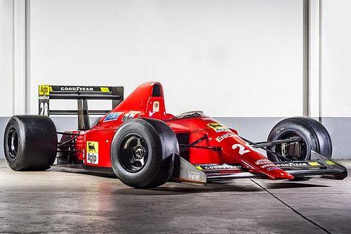 Le mitiche Ferrari di F.1: 640 con il cambio semi-automatico al volante