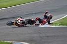 Superbike-WM Fotostrecke: Crash von Bradl im WorldSBK-Training am Lausitzring