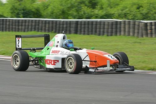 Chennai MRF F1600: Reddy too good for the field in Race 2
