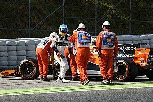 """Mesin rusak, Alonso: """"Saya tidak terkejut"""""""