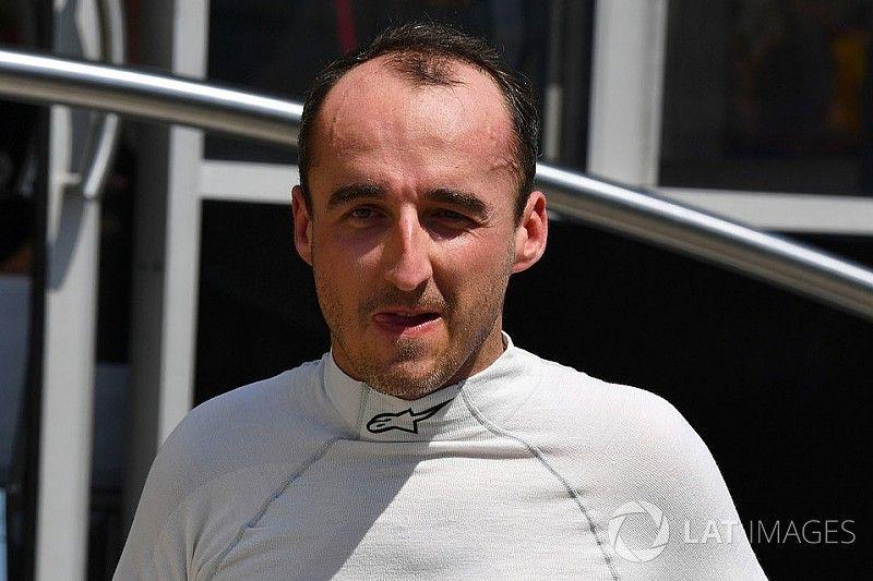 """Kubica completa un altro test """"produttivo"""" con la Williams a Budapest"""