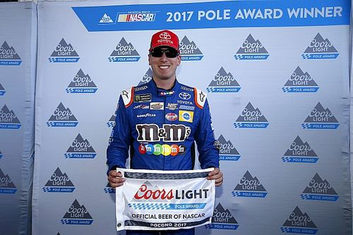 Kyle Busch beats Truex for Pocono pole