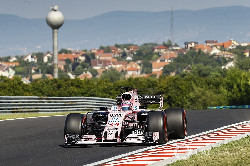 Force India announces Hungary test line-up