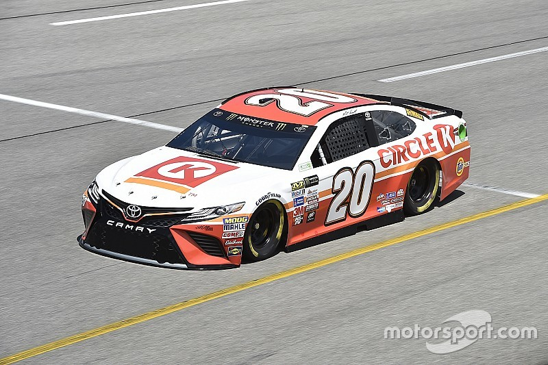 NASCAR in Richmond: Matt Kenseth holt 1. Toyota-Pole 2017