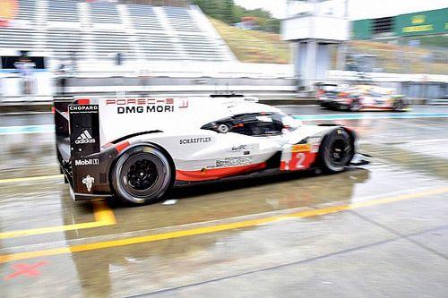 Porsche lidera bajo la lluvia en Fuji; Molina, rapidísimo con el Ferrari