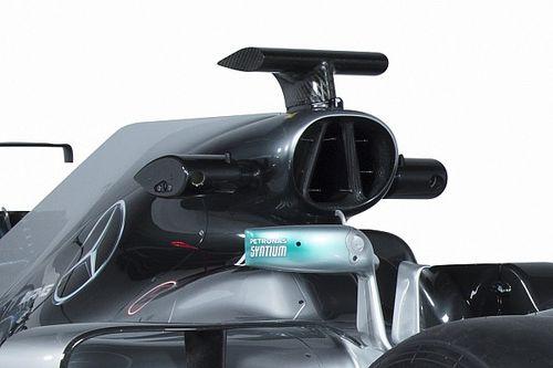 Farkasszemet néz veled a két Mercedes: W07 vs. W08