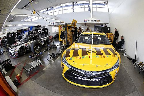"Kyle Busch says Gibbs has ""work to do"" on intermediate program"