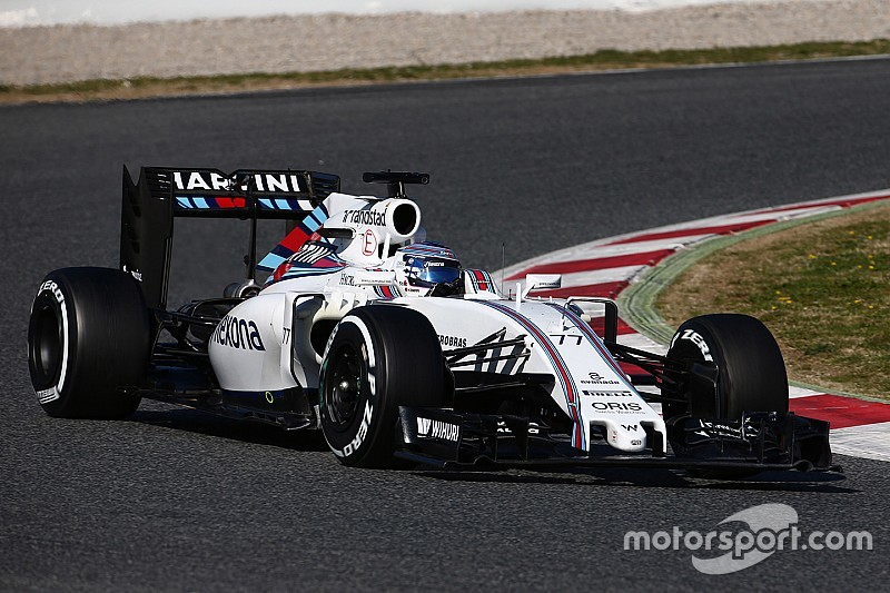 Williams won't run 2016 nose at Barcelona