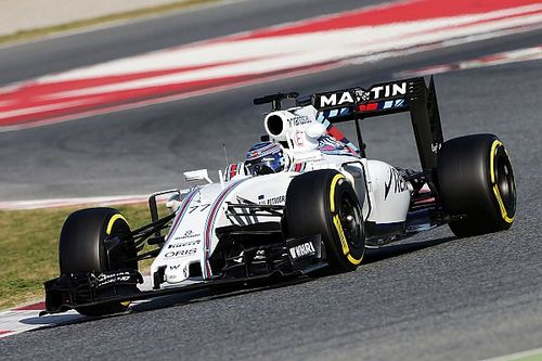 Barcelona F1 test: Bottas puts Williams on top, trouble for Haas