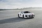 Auto L'Audi R8 V10 RWS présentée à Francfort