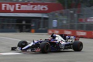 GALERI: Penampilan Gelael di FP1 GP Singapura