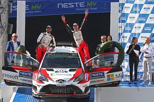 Fotogallery: il trionfo di Lappi e Toyota al Rally di Finlandia