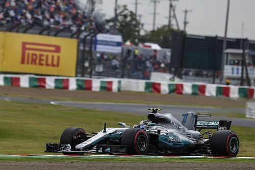 Japanese GP: Bottas tops FP3 despite causing red flag