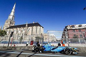 Montreal ePrix: Prost tops practice, huge shunt for Buemi