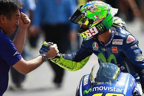 """Rossi grijpt tweede startplek met beide handen aan na """"moeilijke week"""""""