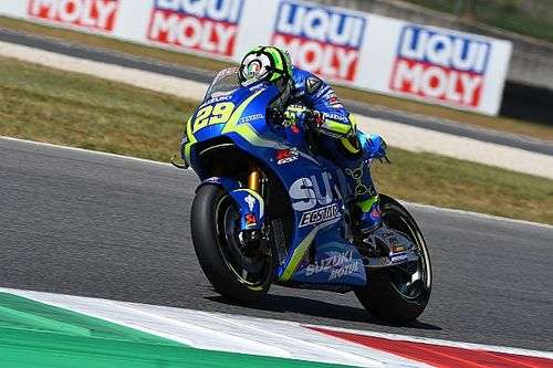 Iannone pins hopes on new Suzuki MotoGP chassis