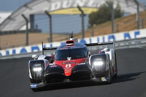 Le Mans test day: Toyota locks out top three in morning session