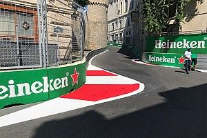 Após acidentes, FIA muda zebra na curva 8 no Azerbaijão