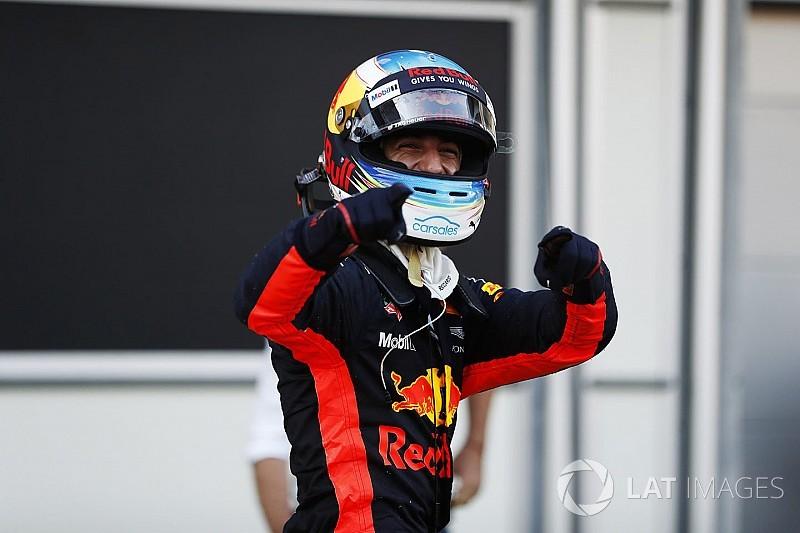 """Ricciardo: """"Che gara folle, non avrei mai pensato di vincere!"""""""
