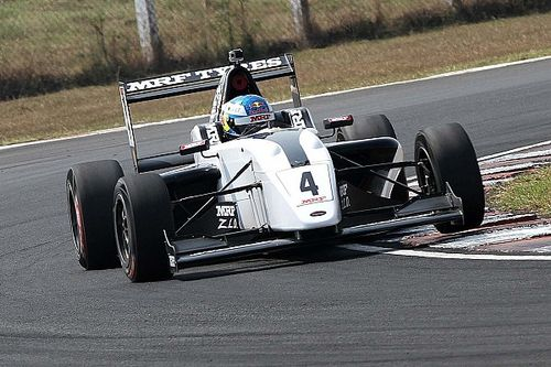 Chennai MRF Challenge: Newey takes lights-to-flag win in Race 1
