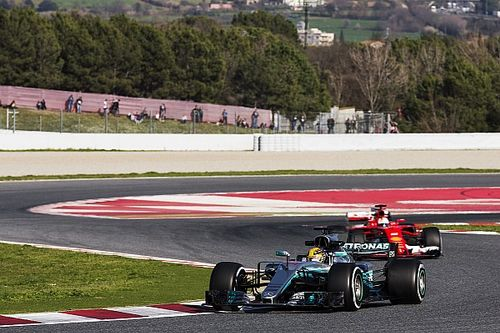 Tes Barcelona: Mercedes ungguli Ferrari pada hari ketiga