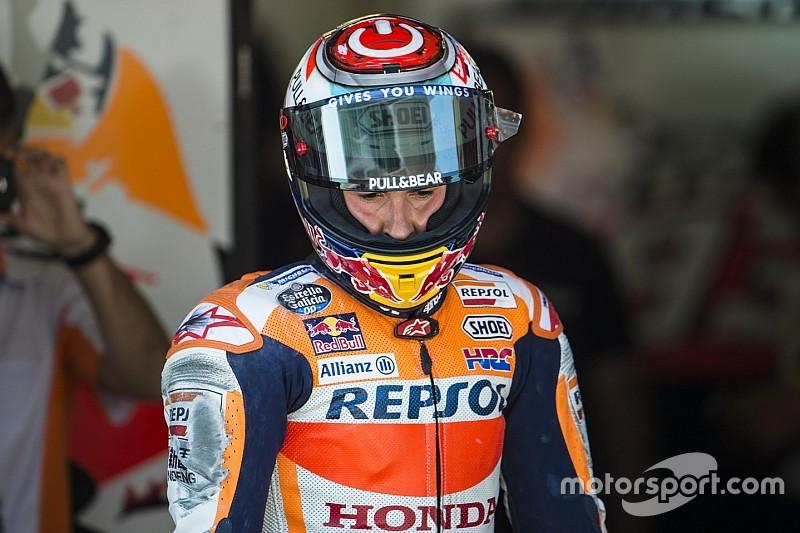 MotoGP Catalunya membuat Marquez lebih tertekan