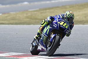 MotoGP News MotoGP-Test Barcelona: Valentino Rossi lobt neuen Yamaha-Rahmen