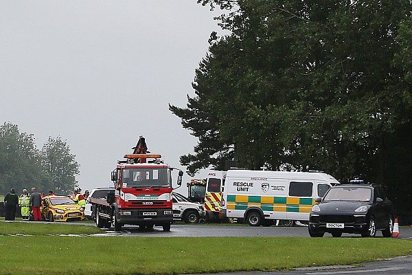 BTCC boss says safety advances saved driver in Croft pile-up