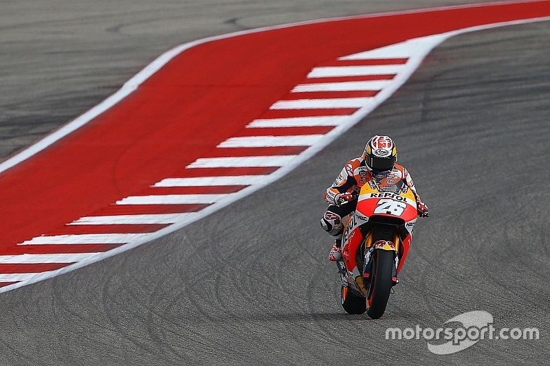 Bumps make Austin resemble supercross track, says Pedrosa