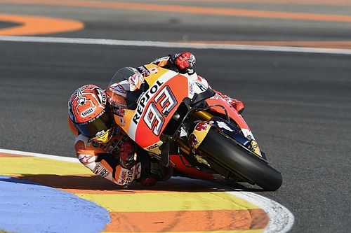 Valencia MotoGP: Marquez leads final warm-up of 2016