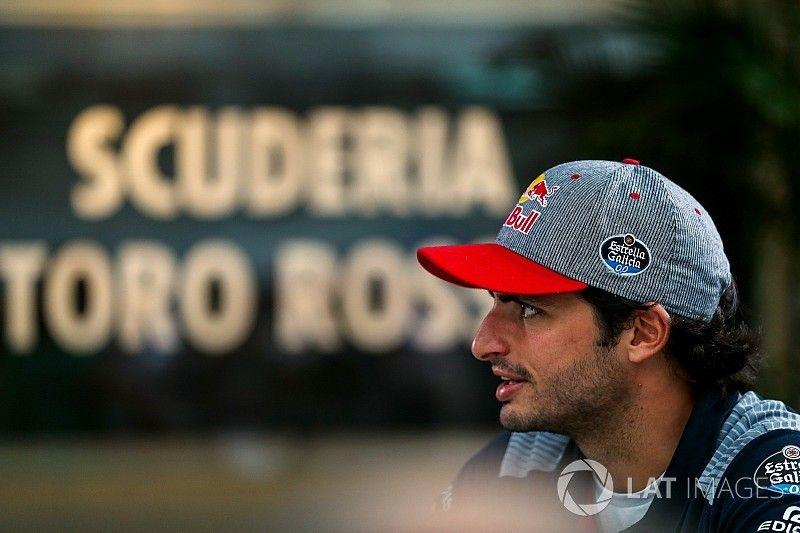 Sainz sluit terugkeer naar Toro Rosso uit
