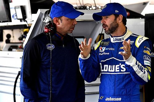 Jimmie Johnson wants to end his career with Chad Knaus