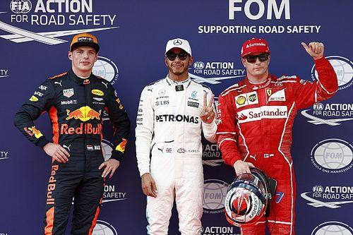 La parrilla de salida del GP de Malasia