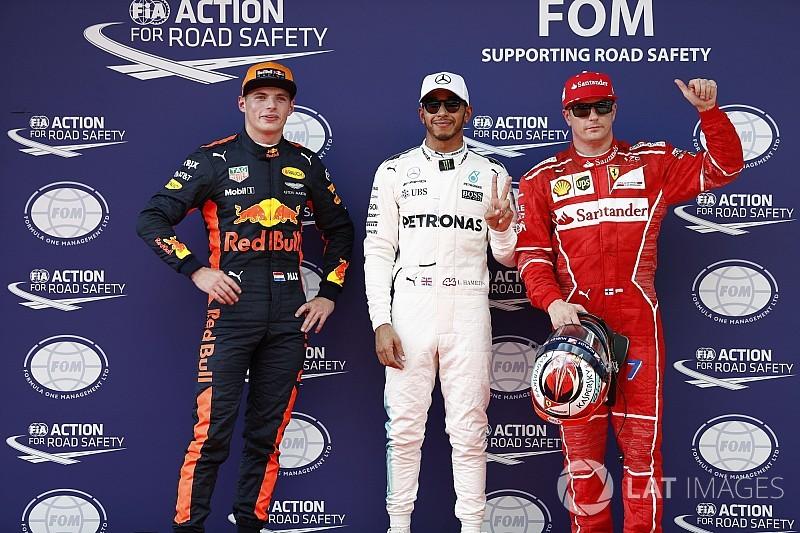 Grid start balapan GP Malaysia 2017