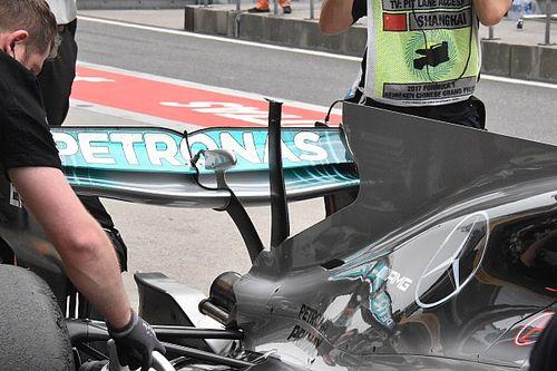 Mercedes: Bottas senza T-wing, si era strappata nelle Libere 3
