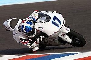 Moto3 Argentina: McPhee pole position, Mir start P16