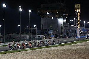 Apa kata pembalap soal balapan basah di Qatar?