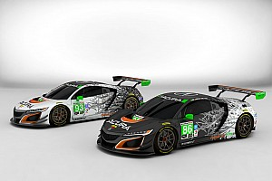 IMSA Breaking news Acura reveals NSX liveries for 2017 IMSA season