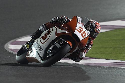 Tes Moto2 Qatar: Nakagami memimpin, Syahrin keempat