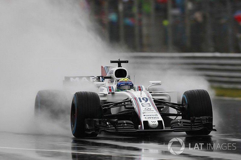 La lluvia arruina la FP3 de F1 en Monza y peligra la clasificación