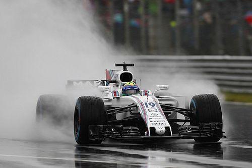 Italian GP: Massa tops final practice washout