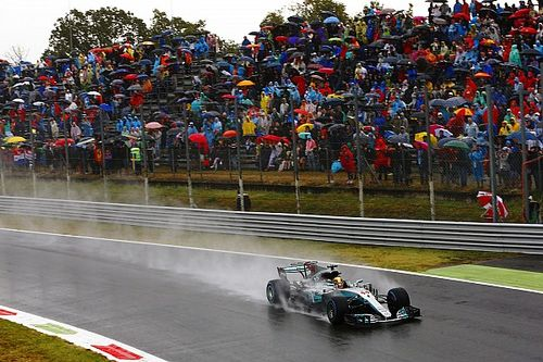 Formel-1-Wetter Monza: Rettet der Regen Mercedes?